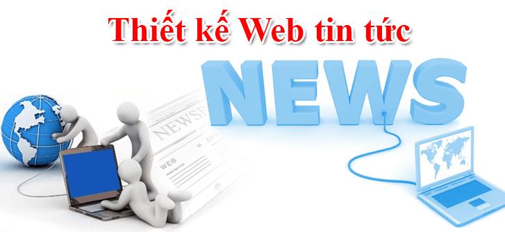 Thiết kế website tin tức.