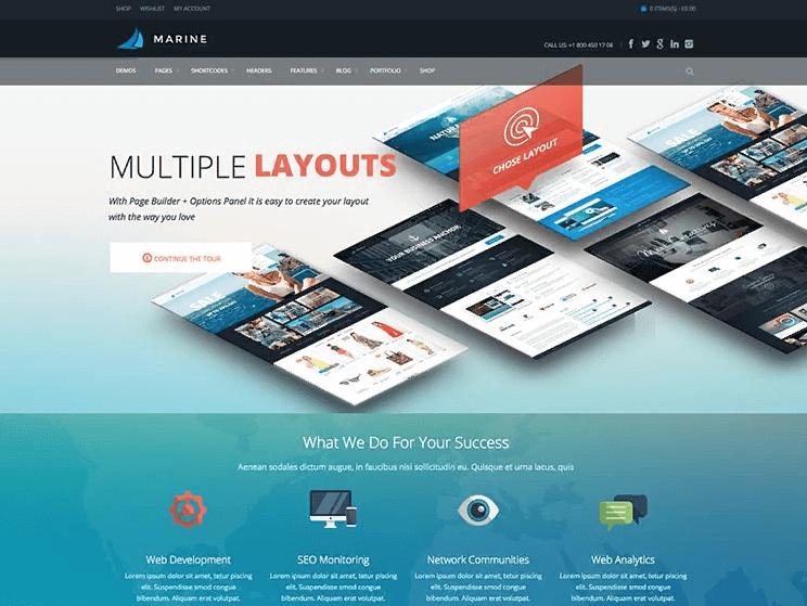 Thiết kế web theo mẫu là gì?