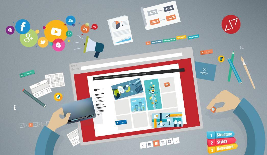 Dịch vụ thiết kế web theo mẫu có sẵn