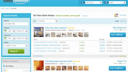 Nhu cầu thiết kế web khách sạn tăng mạnh