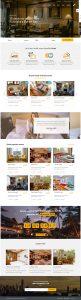 Giao diện website khách sạn nữ hoàng
