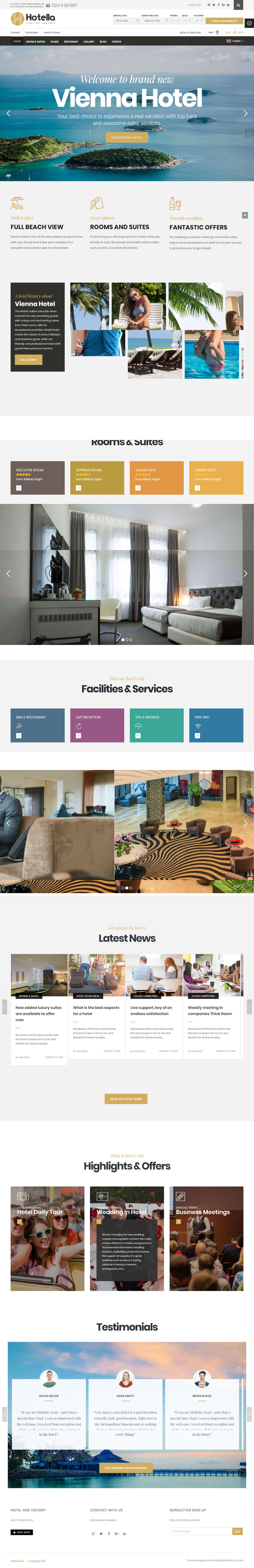 Thiết kế website khách sạn toàn thắng