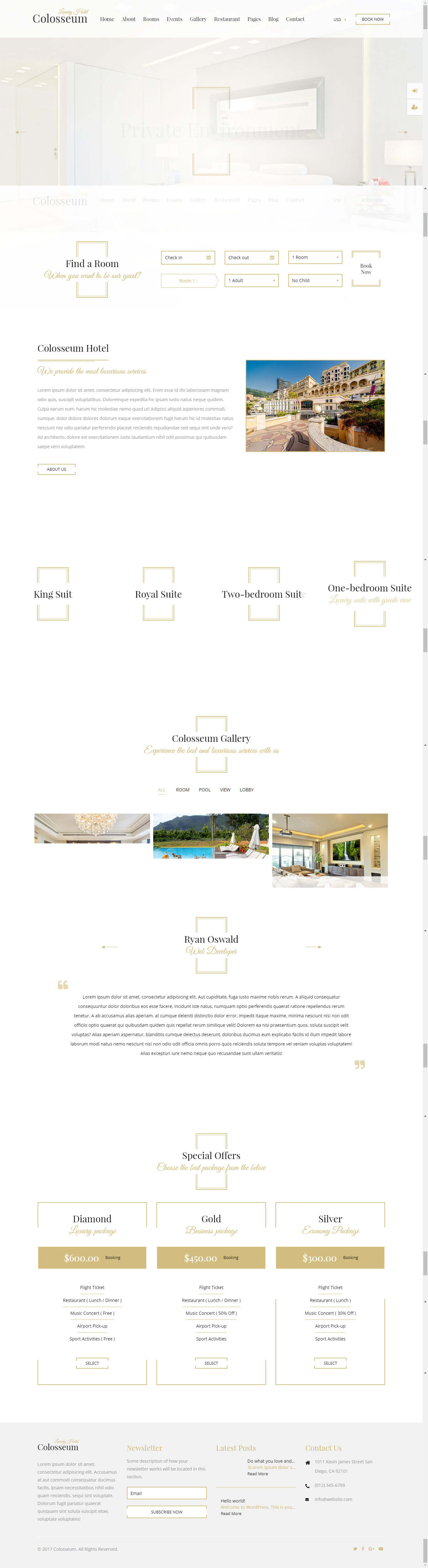 Thiết kế website resort Anh Minh