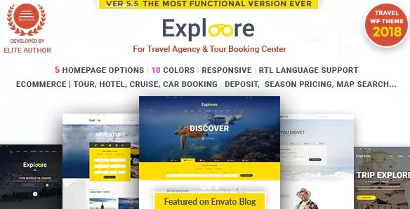 Tour Travel - theme wordpress du lịch bán tour