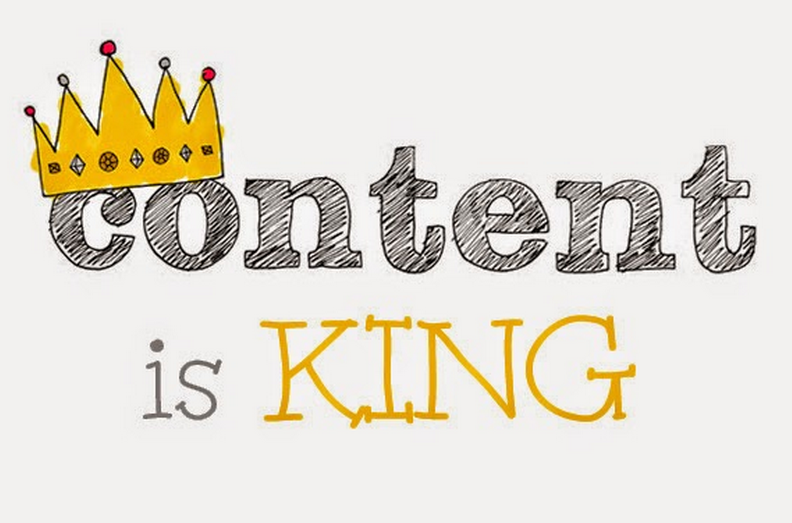 """Content is King"""
