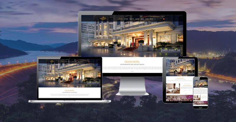 tối ưu website khách sạn trên di động