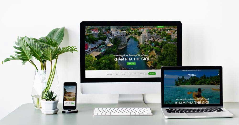 Ý tưởng cho giao diện thiết kế website
