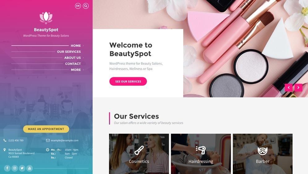 WordPress Beauty Spot