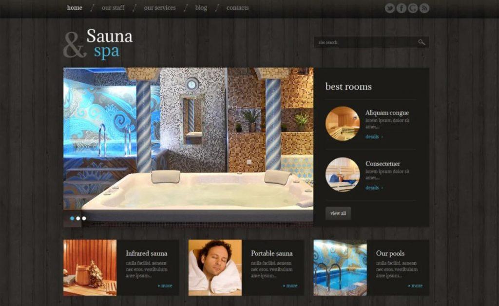 WordPress Sauna