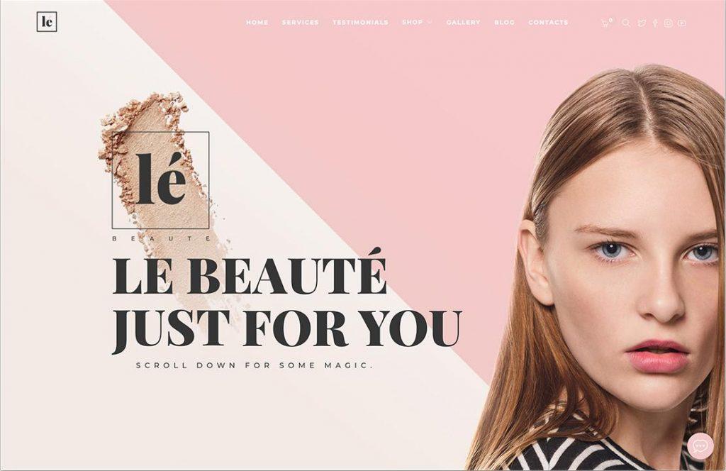 WordPress The Beauty Salon