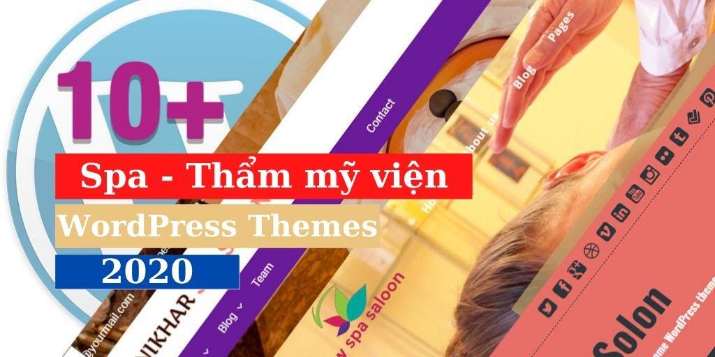 top 10 theme spa wordpress
