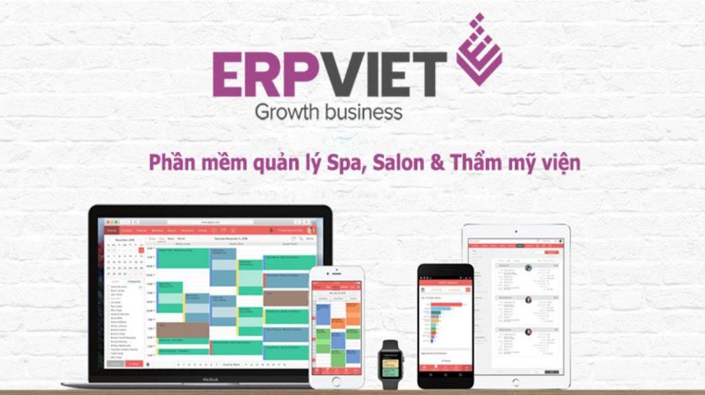 Ứng dụng quản lý chi tiết spa ERPLite