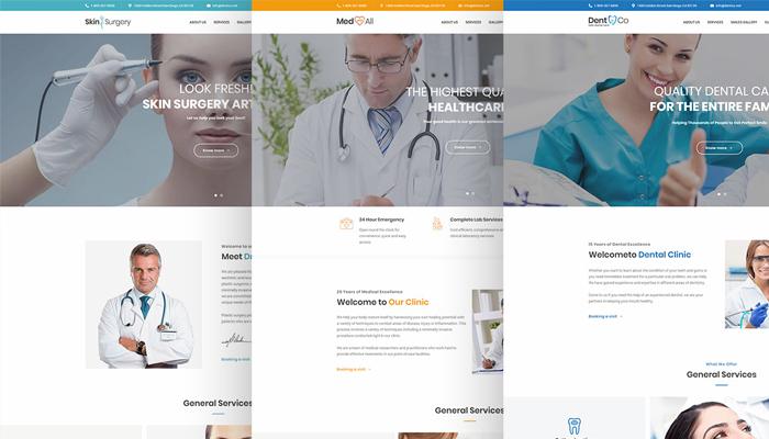 Medin - Mẫu website Y tế - Chăm sóc sức khỏe