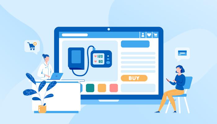 Vai trò của theme trong website bán hàng thiết bị y tế