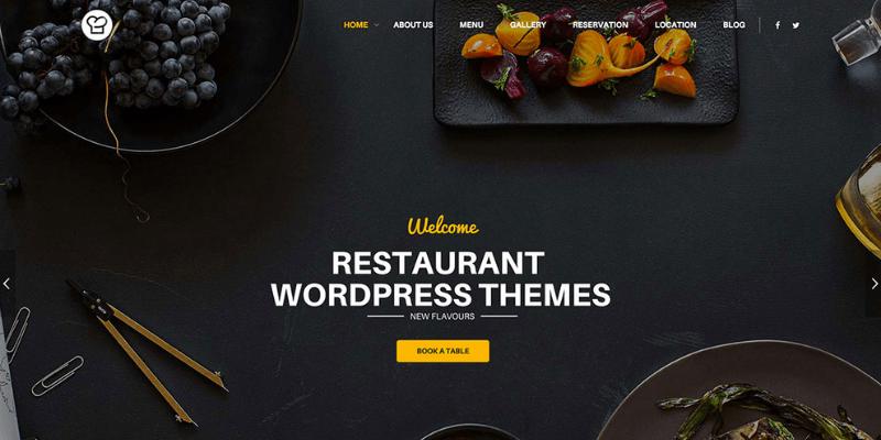 lưu ý khi thiết kế website nhà hàng